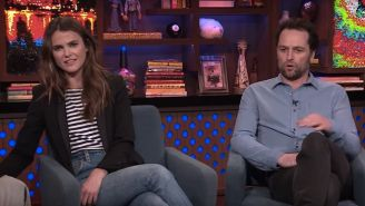 Matthew Rhys Drunkenly Asked Keri Russell For Her Number Years Before 'The Americans'