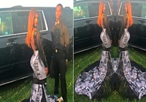 This High School Student Used Her Prom Dress To Make A Statement About Police Brutality