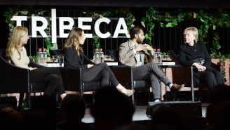 Hillary Clinton Made A Surprise Appearance At The Tribeca Film Festival To Talk About Elephant Poaching