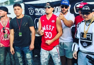 Nick Diaz Is Living His Best Life Partying With The Wu-Tang Clan And Tossing Free Weed At People