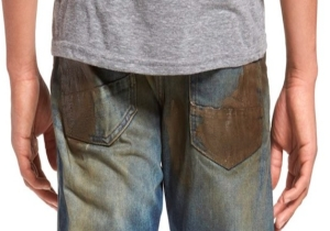 These $425 Dirt-Smeared Jeans Are The Final Harbinger Of The Apocalypse