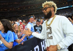 Odell Beckham Jr. Explained Why He's Such A Big UNC Basketball Fan