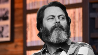 Nick Offerman Talks Acting, Producing, And Sharing The Screen With Sam Elliott