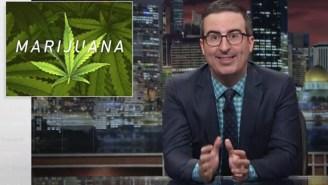 John Oliver Runs Down The Federal Hurdles Still Plaguing Marijuana Legalization