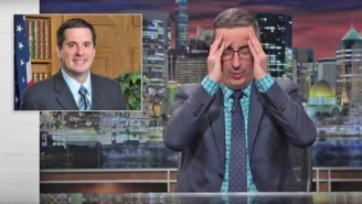 John Oliver Hammers Devin Nunes For Making 'Stupid Watergate' Even Stupider
