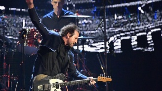 Was Pearl Jam's Soft Protest At The Rock Hall Induction Ceremony A Sign That Punk Has Finally Grown Up?
