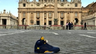 The Pope Now Owns A Pair Of Jordans Thanks To Jim Harbaugh