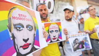 Any Depiction Of Vladimir Putin In Drag Has Been Banned By Russia As 'Extremist' Material