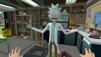 Bask In The Majesty Of The 'Rick And Morty: Virtual Rick-ality' Trailer