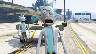 The 'Rick And Morty' Mod For 'GTA V' Is A Fan's Violent Dream Come True