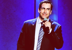 Rob Riggle Used To Drag John Oliver To Improv Shows And Recommends Watching 'Angie Tribeca' On Repeat