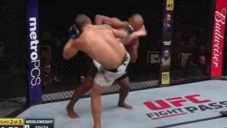 Robert Whittaker Kicks Jacare Souza's Head Off At UFC On FOX 24 In A Massive Upset
