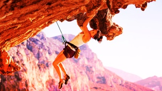 Battling Through A Fear Of Heights, With Help From A Champion Climber