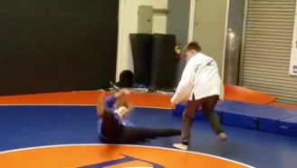 Ronda Rousey Makes A Rare Appearance To Help Out The Next Generation Of Judo Players