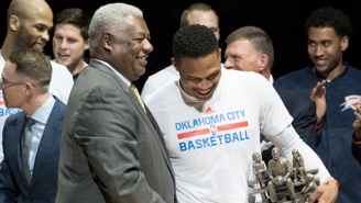 Oscar Robertson Personally Congratulated Russell Westbrook On His Triple Double Season