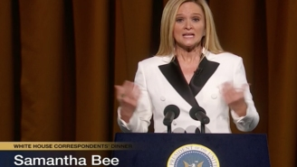 People Loved Samantha Bee's Raunchy 'Not The White House Correspondents Dinner'
