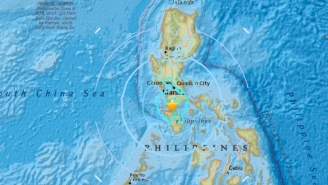 Hundreds Flee In Fear Of A Tsunami As Three Strong Earthquakes Rock The Philippines