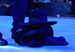 The Undertaker's WrestleMania 33 Ring Gear Had An Armed Guard Protecting It