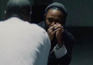 Don Cheadle Interrogates Kendrick Lamar In The Video For 'DNA'