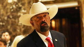 Controversial Former Milwaukee Sheriff David Clarke Signs On As A Spokesperson For A Pro-Trump PAC