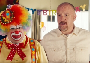 'SNL' Once Again Treads Dark Territory With Louis C.K.'s Sad Encounter With A Birthday Clown