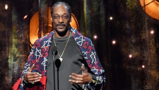 Snoop Dogg's Induction Of Tupac Into The Rock And Roll Hall Of Fame Was Touching And Full Of Weed Humor