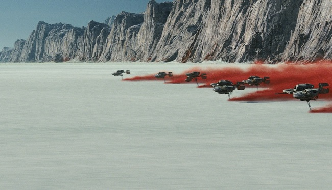 'Star Wars: The Last Jedi' Director Explains The New Planet Seen In The Trailer