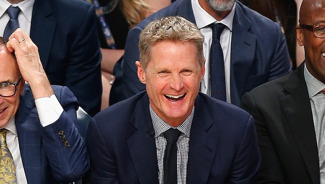 Steve Kerr Responded To Dennis Rodman S Rest Rant With A