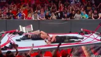 Watch Braun Strowman And Big Show Destroy The Ring In An Explosive Raw Finale