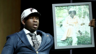 Falcons Draft Pick Takkarist McKinley Dedicated An Interview For The Ages To His Grandma
