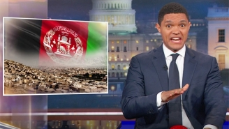 Trevor Noah Attempts To Determine Where World War III Will Begin Using His Button Of Doom