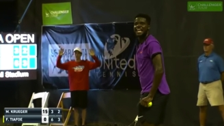 Extremely Loud Sex Noises Interrupted A Tennis Match In Florida