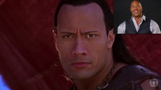 The Rock Doing Commentary Over 'The Scorpion King' Is Fantastic Fun