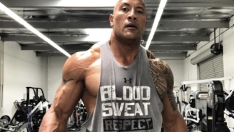 The Rock Took A Break From Clanging And Banging To Share A 'Rumor' About How Well 'Furious' Is Doing
