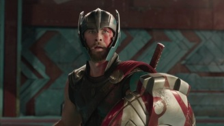 Thor Teams Up With A 'Friend From Work' In This Hard-Rockin' 'Thor: Ragnarok' Teaser