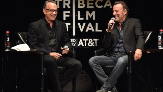 Tom Hanks Did A Wonderful Interview With Bruce Springsteen At The Tribeca Film Festival