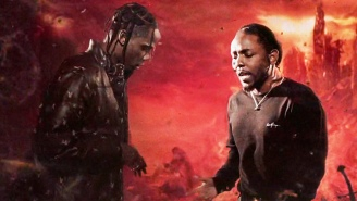 Kendrick Lamar Makes A Cameo In Travis Scott's Psychedelic 'Goosebumps' Video