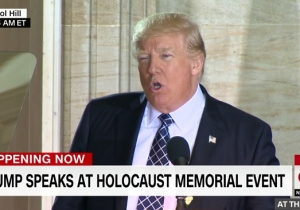 Trump Pledges To 'Confront Anti-Semitism' Following Plenty Of White House Slip Ups On Holocaust History