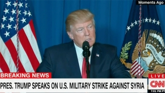 The Trump Administration Has Launched A Massive Missile Strike On Syria