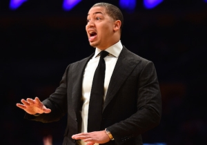 Tyronn Lue Was At The BIG3 Championship Scouting A New Potential Cavs Player