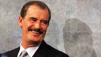 Former Mexican President Vicente Fox Trolls Trump For Backtracking On His Own 'First 100 Days' Standard