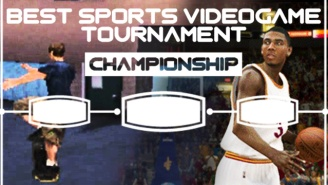 It's The Finals Of The Best Sports Video Game Tournament