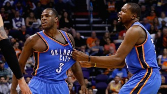 Kevin Durant Took Credit For His 'First Born' Dion Waiters Getting Paid