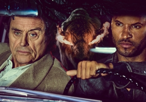 Ian McShane And Ricky Whittle On 'American Gods,' American Accents And The Dark Side Of Technology