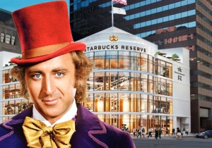 The New Starbucks Reserve Roastery Is Basically Willy Wonka's Coffee Factory