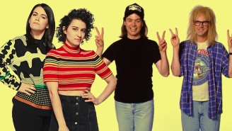 The Stars Of 'Broad City' Will Perform A Live Read Of 'Wayne's World' At Colossal Clusterfest
