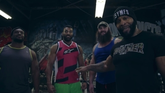 Big E, Braun Strowman And Jinder Mahal's Arm Workout With C.T. Fletcher Is Ridiculous