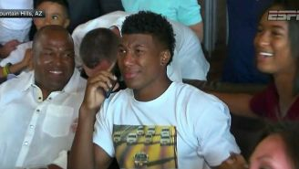 The Bills' Second Round Pick Wore An O.J. Simpson-Inspired Shirt When He Got Drafted