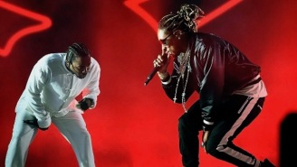 Kendrick Lamar Hopped On A Remix Of Future's 'Mask Off' And It's Sensational