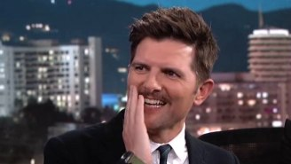 'Star Wars' Superfan Adam Scott Loses His Mind When He Meets Mark Hamill